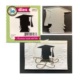 Girl Grad Metal Die by Impression Obsession Dies DIE671-I - Inspiration Station Scrapbook Store & Retreat