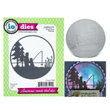 Good Day Fishing Metal Die by Impression Obsession Dies DIE800-YY - Inspiration Station Scrapbook Store & Retreat