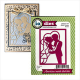 Heart Couple Frame Die by Impression Obsession DIE615-YY - Inspiration Station Scrapbook Store & Retreat