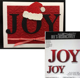 JOY word die by DEE'S DISTINCTIVELY IME-108 - Inspiration Station Scrapbook Store & Retreat