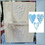 LR0159 3 Hearts by Marianne Designs - Inspiration Station Scrapbook Store & Retreat