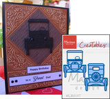 Antique Cars LR0197 Metal Cutting Die by Marianne Designs - Inspiration Station Scrapbook Store & Retreat