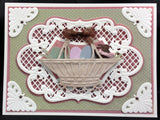 ANJA'S VINTAGE CORNERS LR0285 Metal Die Cuts by MARIANNE DESIGNS - Inspiration Station Scrapbook Store & Retreat