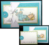 Toby is Two Rubber Stamp by Stamping Bella - Inspiration Station Scrapbook Store & Retreat