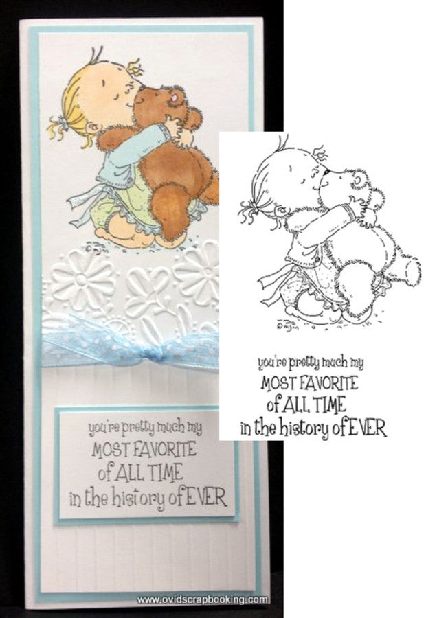Love ya Rubber Stamp by Stamping Bella - Inspiration Station Scrapbook Store & Retreat