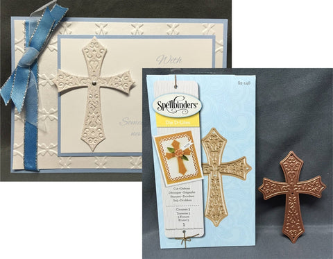 Crosses 3 S2-148 Spellbinders - Inspiration Station Scrapbook Store & Retreat