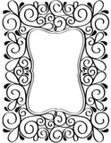 Scroll Frame Embossing Folder By Darice Craft Folders 1215-49 - Inspiration Station Scrapbook Store & Retreat