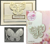BUTTERFLY LACE die by WILD ROSE STUDIOS SD018 - Inspiration Station Scrapbook Store & Retreat