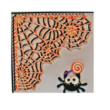 Spiderweb Corner Metal die cut Halloween Tutti Designs craft dies