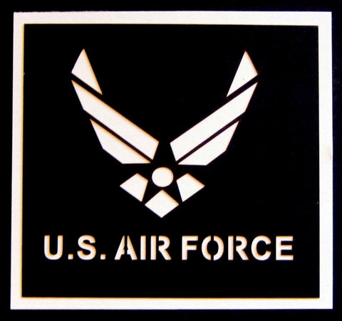 Air Force Scrapbook Laser Die Cut Title for Military Scrapbooking - Inspiration Station Scrapbook Store & Retreat