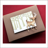 Tree Trunks Metal Die Cut by Poppystamps Dies 1960 - Inspiration Station Scrapbook Store & Retreat