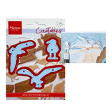 Sea Gulls Die Cut Set by Marianne Design LR0595