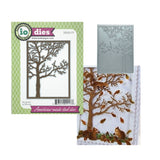 Tree Frame Metal Die Cut by Impression Obsession DIE205-YY - Inspiration Station Scrapbook Store & Retreat