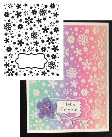 DAISY DREAMS Limited Edition Embossing Folder by ULTIMATE CRAFTS - Inspiration Station Scrapbook Store & Retreat