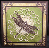 Floral Dragonfly Die by Serendipity Stamps 006GD - Inspiration Station Scrapbook Store & Retreat