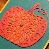 Pumpkin Thin Metal Die by Serendipity Stamps 009LD - Inspiration Station Scrapbook Store & Retreat