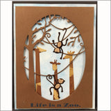 Jungle Vine Frame metal die by Poppystamps dies 1488