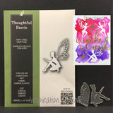 Inspiration Station Thoughtful Faerie metal die by Poppystamps dies 1783
