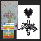 Flower Easter Basket CR1209 metal die by Marianne Designs dies