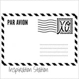 Air Mail Envelope embossing folder by Darice embossing folders 1219-239