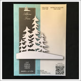 Alpine Trees Metal Die by Memory Box Dies 99829 - Inspiration Station Scrapbook Store & Retreat