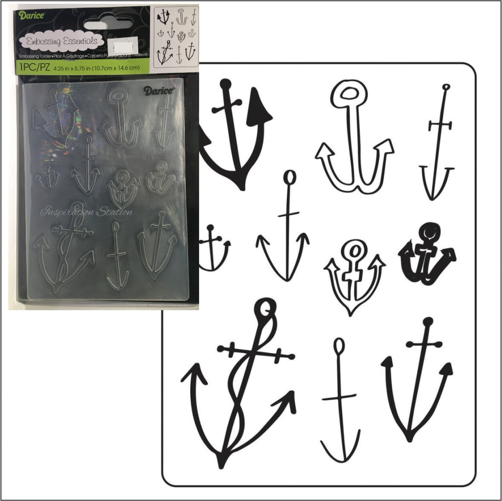 Anchors Background embossing folder by Darice embossing folders 30023112