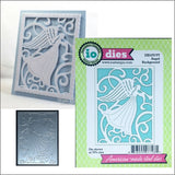 Angel Background Metal Die Cut by Impression Obsession Dies DIE470-YY - Inspiration Station Scrapbook Store & Retreat