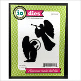 Christmas Angels Metal Die Cut Set by Impression Obsession Dies DIE209-N - Inspiration Station Scrapbook Store & Retreat