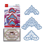 Anja's Vintage Corners Metal Die Cuts by Marianne Designs Cutting Dies LR0285