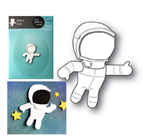 Astro Suit Die Cut Set by Memory Box Dies 99973 - Inspiration Station Scrapbook Store & Retreat