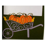 Autumn Wheelbarrow Metal die cut Tutti Designs craft dies TUTTI-149