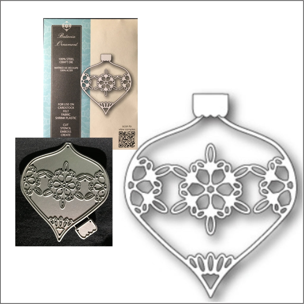 Batavia Ornament Die by Memory Box Dies 99820 - Inspiration Station Scrapbook Store & Retreat