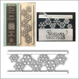Batavia Snowflake Channel Die by Memory Box Dies 99815 - Inspiration Station Scrapbook Store & Retreat