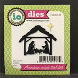 Nativity metal die set - Impression Obsession dies DIE355-M