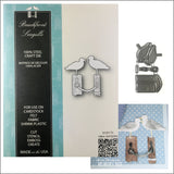 Beachfront Seagulls Metal Die Cut Set by Memory Box dies 99724 - Inspiration Station Scrapbook Store & Retreat