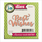 Best Wishes words Metal Cutting Die by Impression Obsession Dies DIE386-F - Inspiration Station Scrapbook Store & Retreat