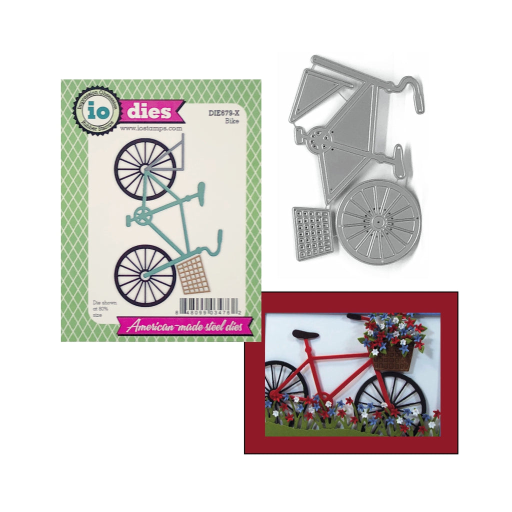 Bike Die Cut Set by Impression Obsession Dies DIE679-X - Inspiration Station Scrapbook Store & Retreat