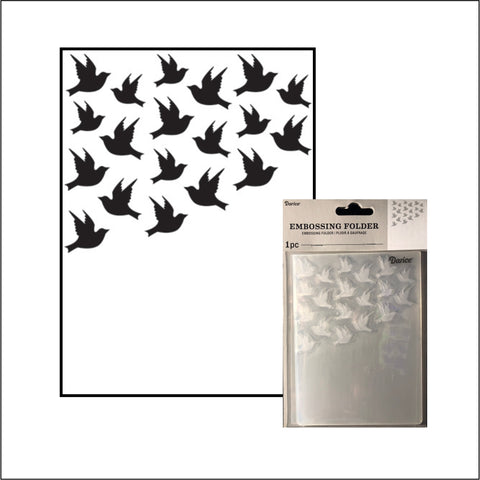 Birds Embossing Folder by Darice Embossing Folders 30032596 - Inspiration Station Scrapbook Store & Retreat