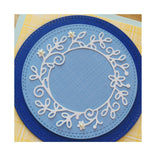 Blossom Circle Die Cut by Memory Box Dies 99985 - Inspiration Station Scrapbook Store & Retreat