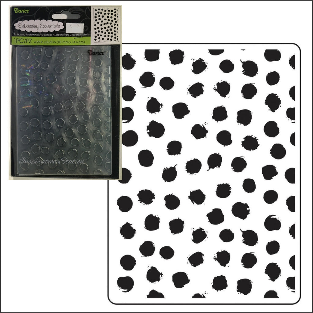 Blot Dot embossing folder by Darice embossing folders 30023109