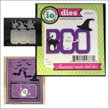 BOO Die Cut Set by Impression Obsession Dies DIE325-V - Inspiration Station Scrapbook Store & Retreat