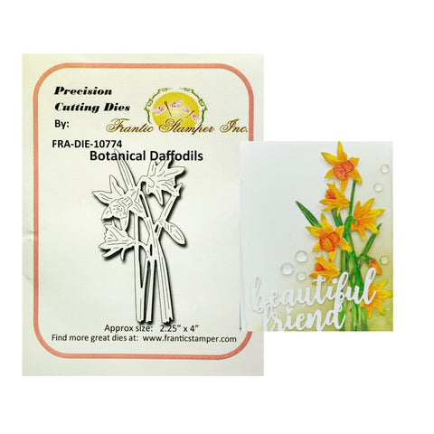 Botanical Daffodils Steel Craft Die by Frantic Stamper FRA-DIE-10774 - Inspiration Station Scrapbook Store & Retreat