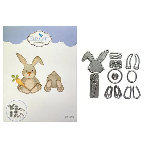 Bunny Metal Die Cut Set by Elizabeth Craft Designs 1459 - Inspiration Station Scrapbook Store & Retreat