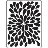 Burst Background embossing folder by Darice embossing folders 30023108