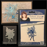 Heather Fairy metal die by Tatered Lace dies D608