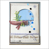 Canoe & Paddle Die Cut Set By Frantic Stamper Dies FRA-DIE-09872 - Inspiration Station Scrapbook Store & Retreat