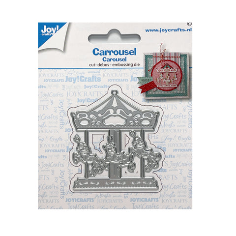 Carousel Metal Die Cut Set by Joy Crafts Cutting Dies