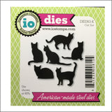 Cat Set Metal Die Cut Set by Impression Obsession Dies DIE083-K - Inspiration Station Scrapbook Store & Retreat