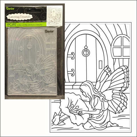 Fairy Door embossing folder by Darice embossing folders 30008395