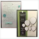 Celebration Balloons Metal Die Set by Poppystamps Dies 1323 - Inspiration Station Scrapbook Store & Retreat